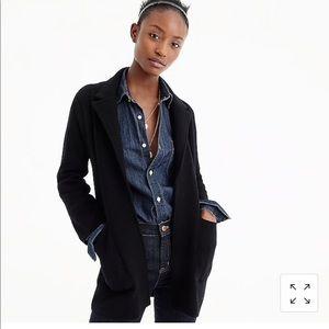 JCrew Open Front Sweater Blazer XS